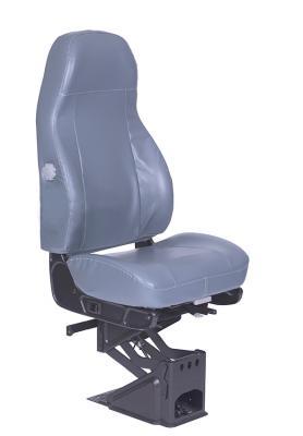 Routemaster 310School Bus Seat, HiPro 95 Height Riser Height Riser, Grey Vinyl | National Seating