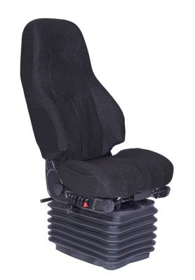 School Bus Seat, HiPro HP Dual damper Air Suspension, Bellows, Black Mordura Cloth | National Seating