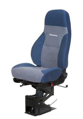 Truck Seat, HiPro 95 Air Suspension, Hi-Back, Plus style: Orient Blue/Waterfall Grey Mordura Cloth | National Seating