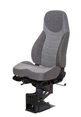 Truck Seat, HiPro 95 Air Suspension, Charcoal Grey/Slate Dust Grey Mordura Cloth | NationalSeating